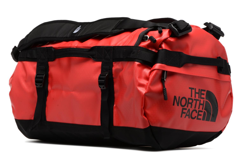 Sporttaschen The North Face BASE CAMP DUFFEL - S rot schuhe getragen