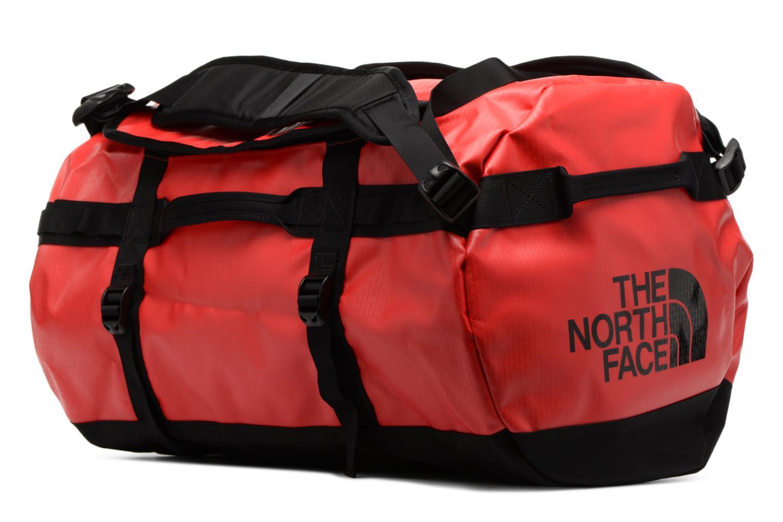 Sporttaschen The North Face BASE CAMP DUFFEL - S rot ansicht von vorne
