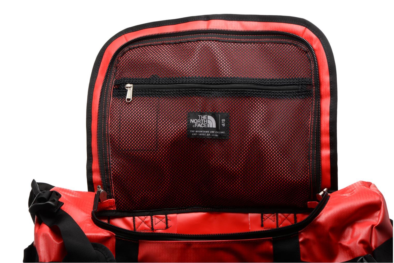 Sporttaschen The North Face BASE CAMP DUFFEL - S rot ansicht von hinten