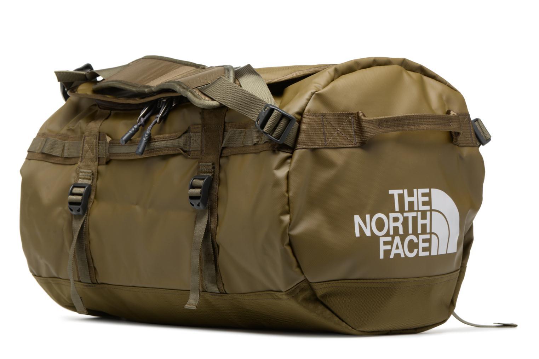 Sporttaschen The North Face BASE CAMP DUFFEL - S grün ansicht von rechts