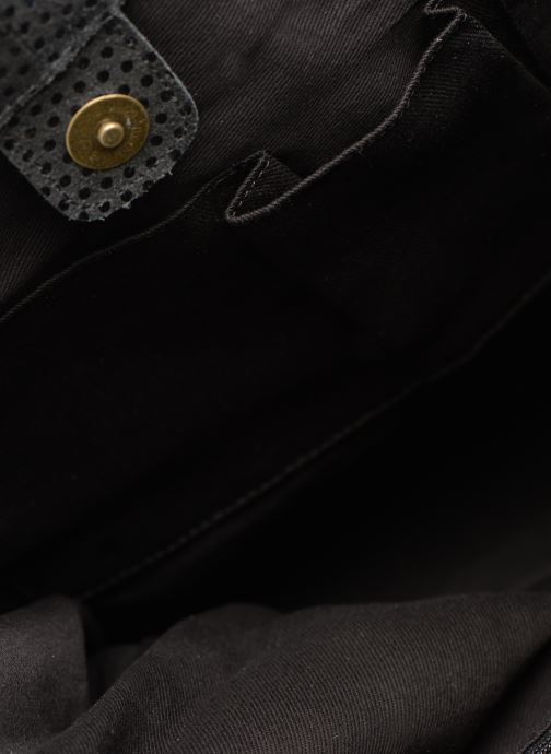 Bolsos de mano Pieces Gunn Suede Bag Negro vistra trasera