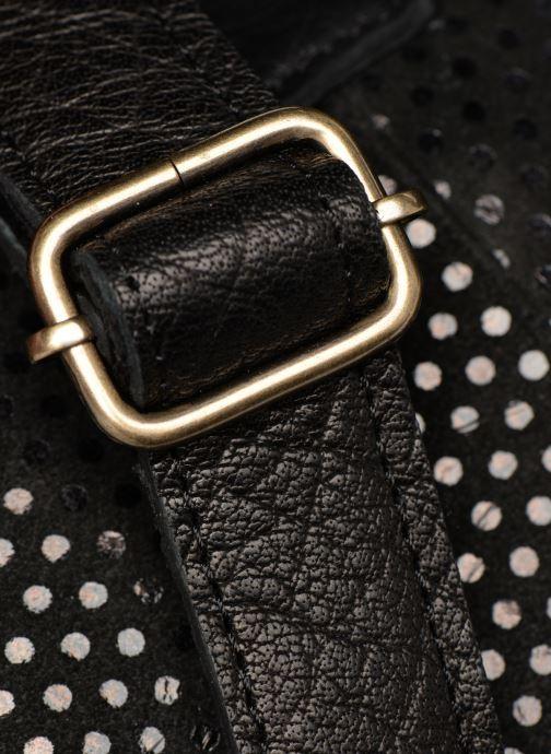 Handtassen Pieces Gunn Suede Bag Zwart links