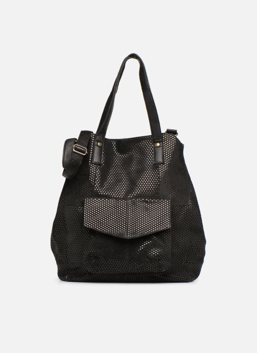 Handtassen Pieces Gunn Suede Bag Zwart detail