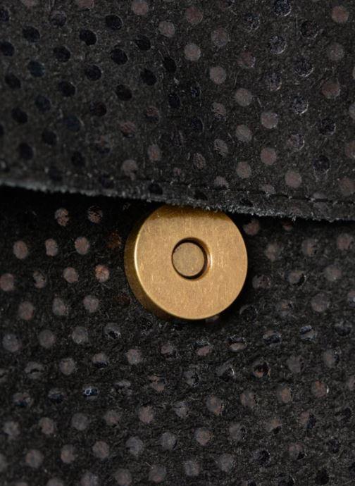 Bolsos de mano Pieces Gunn Suedde Crossbody Negro vistra trasera