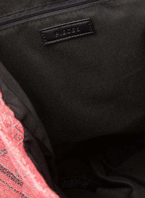 Handtaschen Pieces Grace Canvas Shopper rosa ansicht von hinten