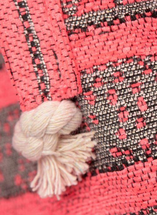 Handtaschen Pieces Grace Canvas Shopper rosa ansicht von links