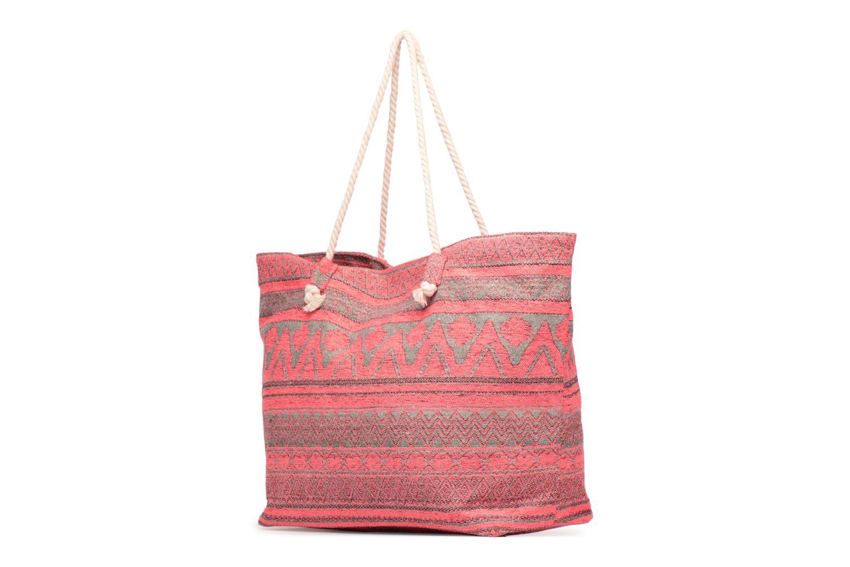 Handtassen Pieces Grace Canvas Shopper Roze model