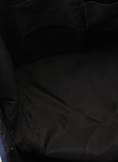 Handtassen Pieces Gillian Canvas Shopper Blauw achterkant