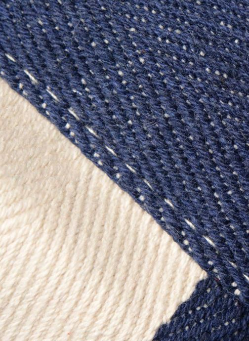 Handtassen Pieces Gillian Canvas Shopper Blauw links