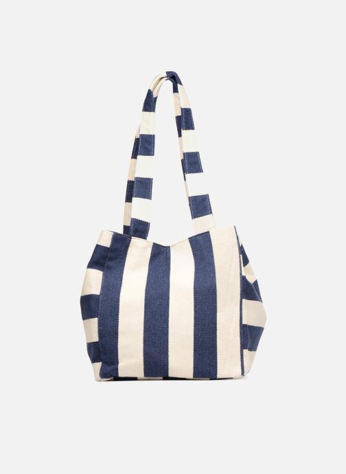 Handtaschen Pieces Gillian Canvas Shopper blau detaillierte ansicht/modell