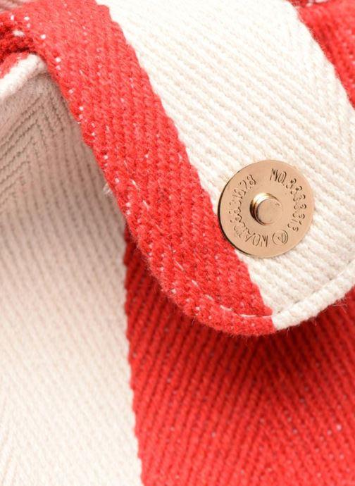 Sacs à main Pieces Gillian Canvas Shopper Rouge vue gauche
