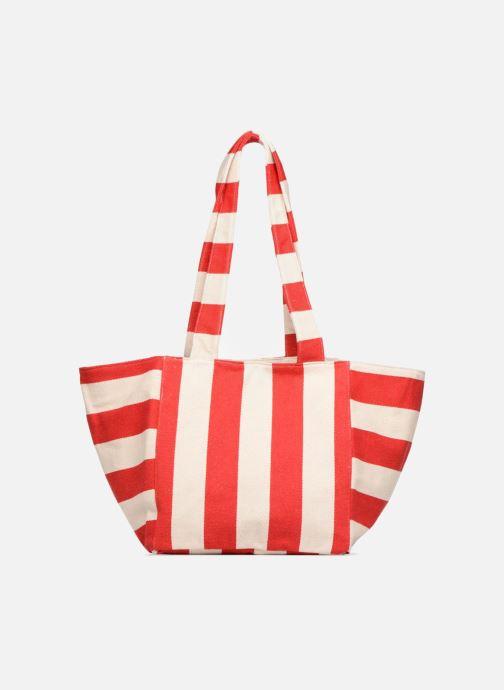 Sacs à main Pieces Gillian Canvas Shopper Rouge vue détail/paire