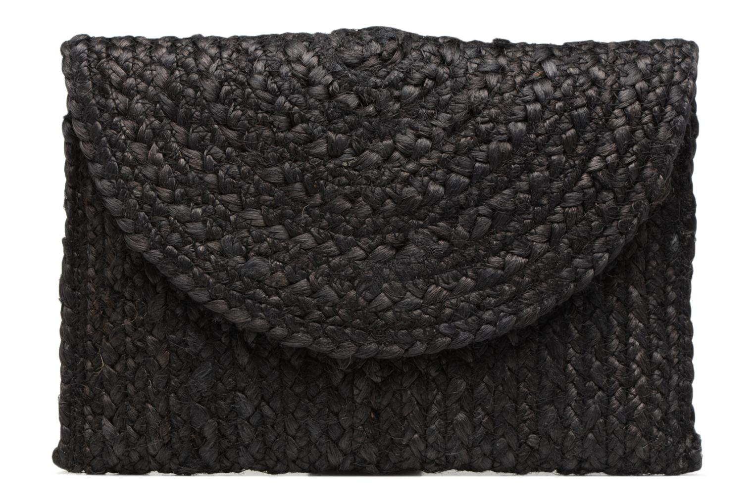Clutch Gracia Pieces Straw Clutch Gracia Straw Black Pieces wAq67Sqx8