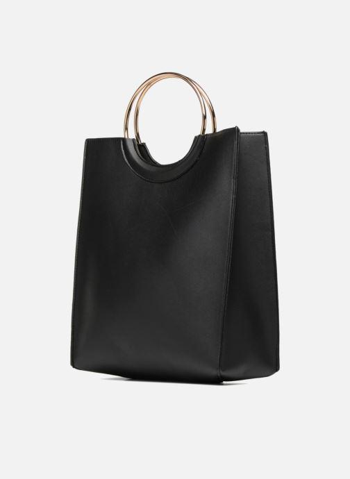 Handtassen Pieces Gemma Shopper Zwart model