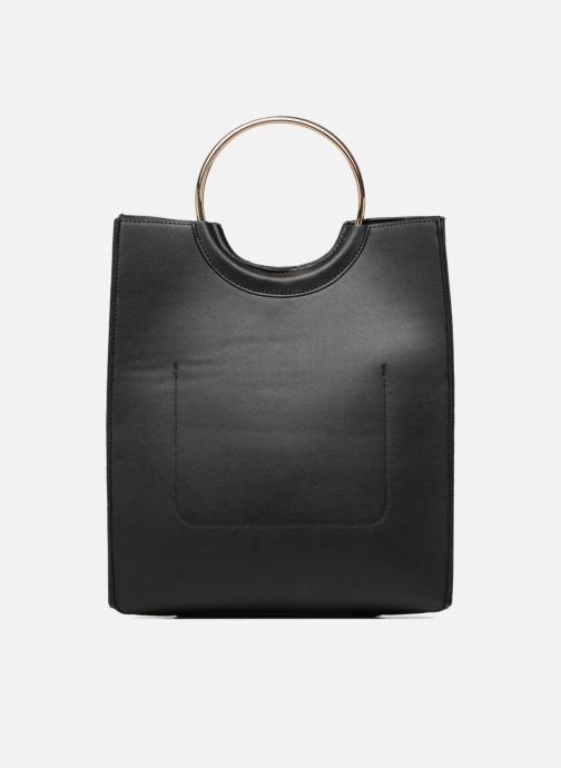 Handtassen Pieces Gemma Shopper Zwart voorkant