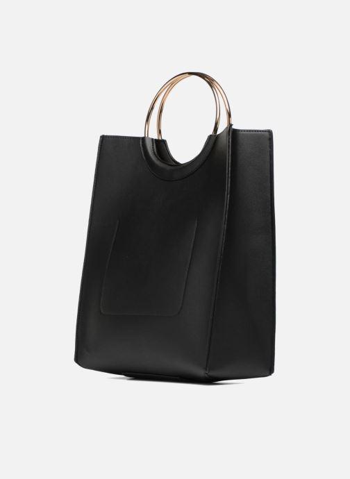 Handtassen Pieces Gemma Shopper Zwart rechts