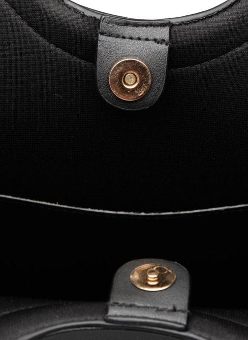 Handtassen Pieces Gemma Shopper Zwart achterkant