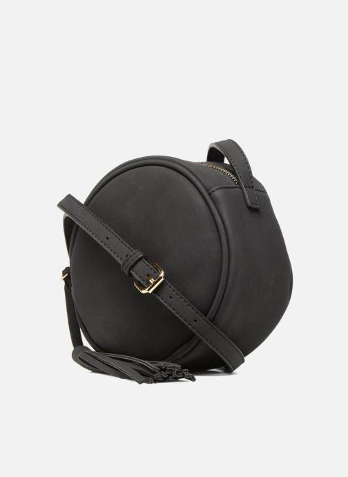 Handbags Pieces Galina Crossbody Black model view