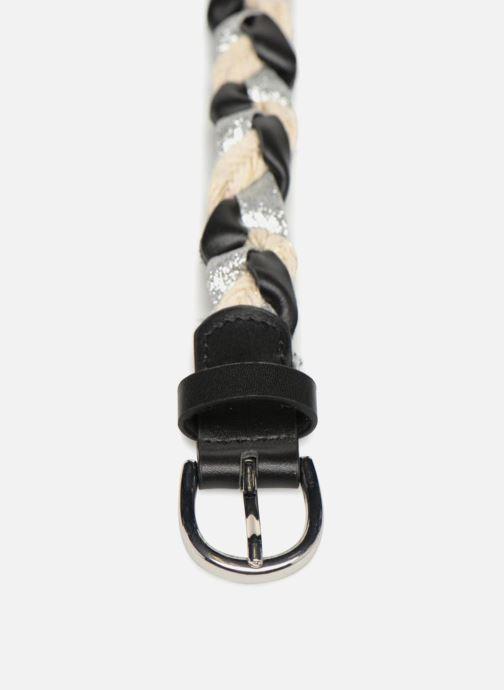 Cinturones Pieces Meas Leather Belt Negro vista del modelo