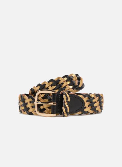 Cinturones Pieces Garbo Leather Belt Negro vista de detalle / par