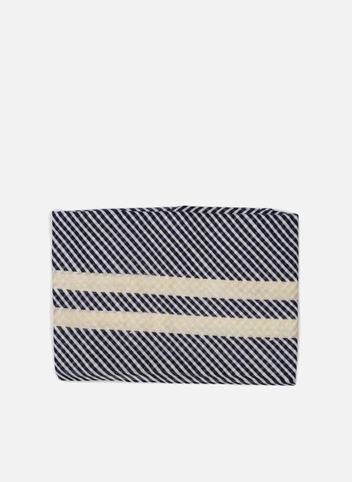 Sciarpa y foulard Pieces Gurlitta Long Scarf Azzurro modello indossato