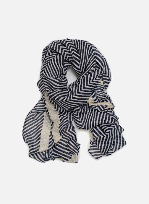 Sjaal Pieces Gurlitta Long Scarf Blauw detail