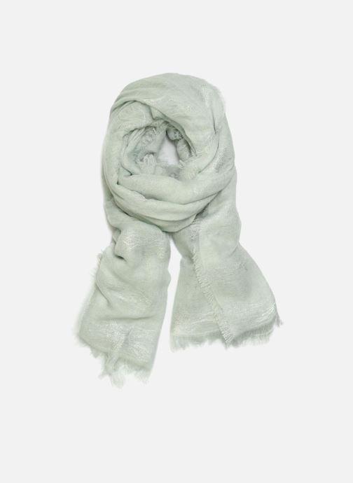Sjaal Pieces Gabi Long Scarf Blauw detail