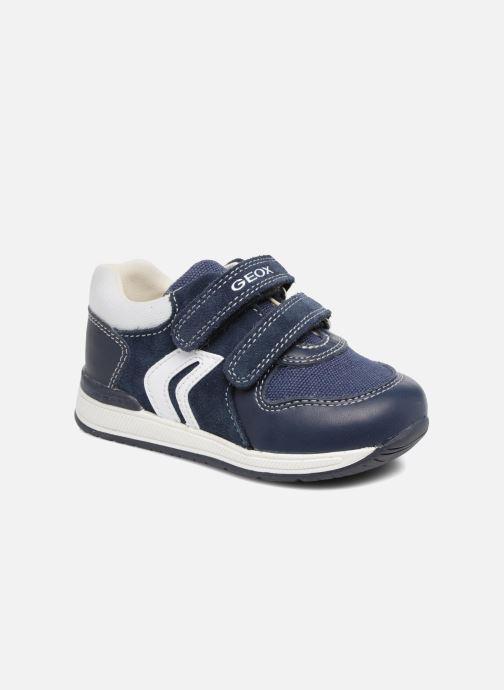 c818fb5fc3a Sneakers Geox B RISHON B. A B640RA Blå detaljeret billede af skoene