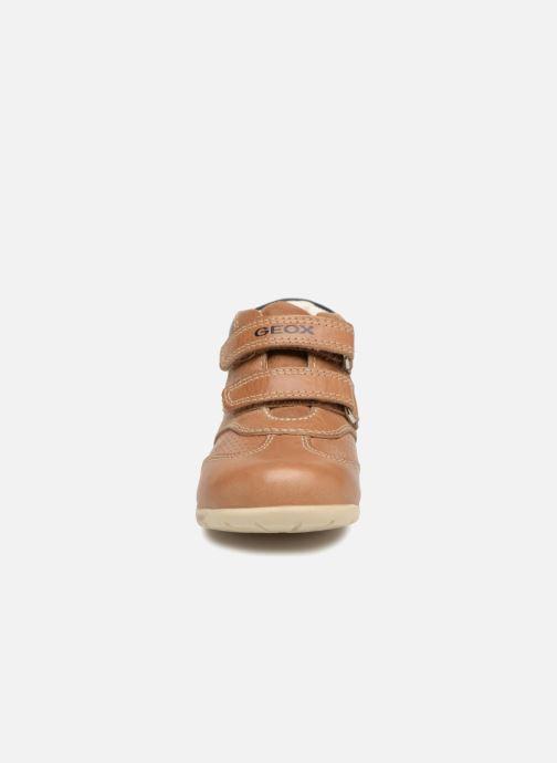 Bottines et boots Geox B KAYTAN B. A  B8250A Marron vue portées chaussures
