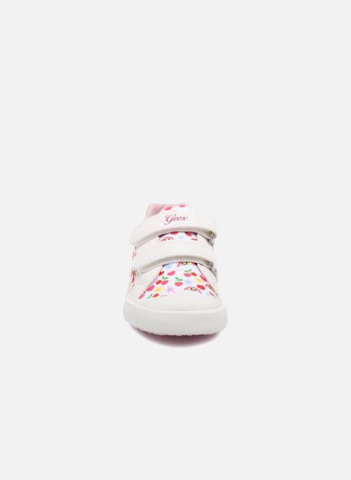 Baskets Geox B KILWI G. C B82D5C Blanc vue portées chaussures
