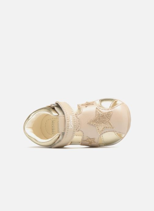 Sandales et nu-pieds Geox B EACH G. D  B820AD Or et bronze vue gauche