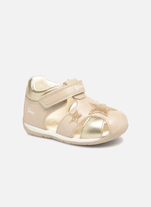 Sandales et nu-pieds Geox B EACH G. D  B820AD Or et bronze vue détail/paire
