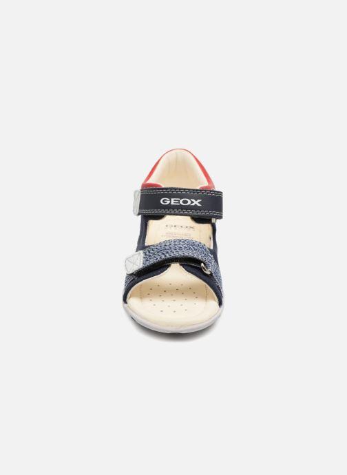 Sandales et nu-pieds Geox B Sandal ELBA Boy  B B82L8B Bleu vue portées chaussures