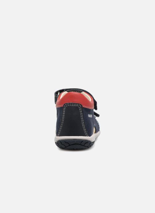 Sandales et nu-pieds Geox B Sandal ELBA Boy  B B82L8B Bleu vue droite
