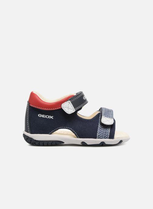 Sandales et nu-pieds Geox B Sandal ELBA Boy  B B82L8B Bleu vue derrière