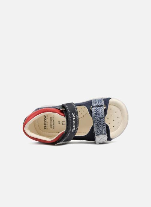 Sandales et nu-pieds Geox B Sandal ELBA Boy  B B82L8B Bleu vue gauche
