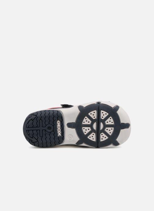 Sandales et nu-pieds Geox B Sandal ELBA Boy  B B82L8B Bleu vue haut