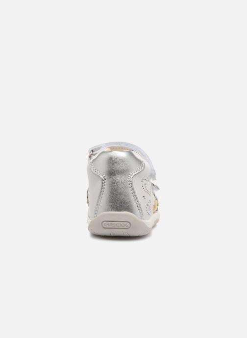Sandales et nu-pieds Geox B S.TAPUZ G. B B820YB Blanc vue droite