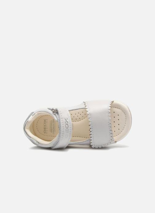 Sandales et nu-pieds Geox B S.TAPUZ G. B B820YB Blanc vue gauche