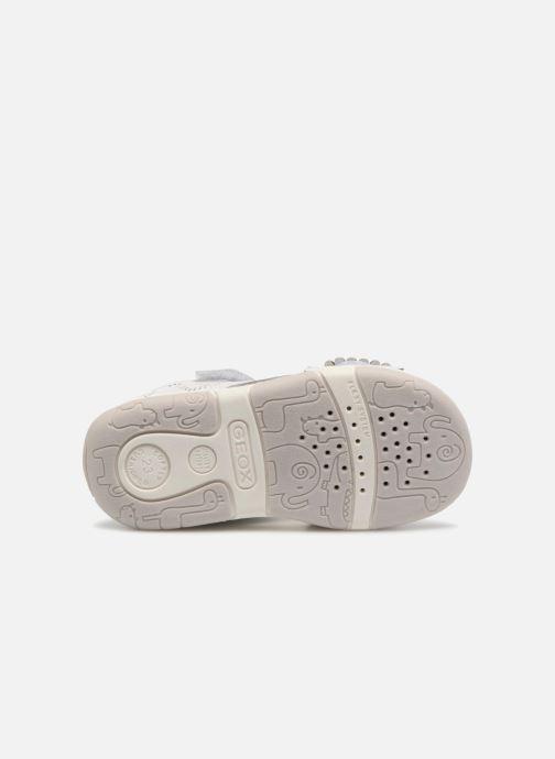 Sandales et nu-pieds Geox B S.TAPUZ G. B B820YB Blanc vue haut