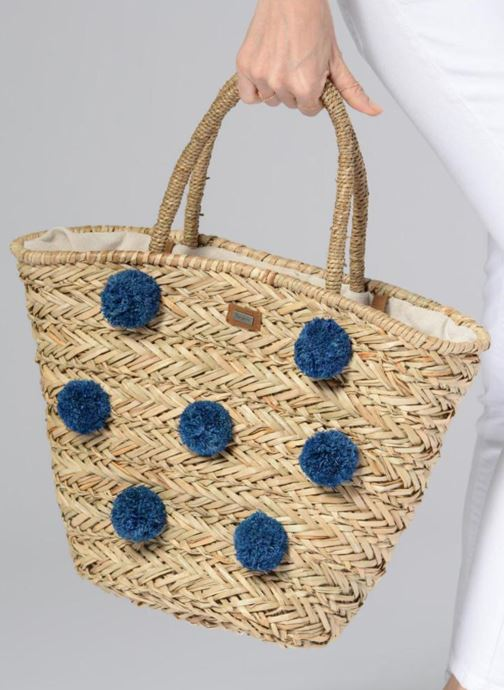 Handtaschen Pepe jeans Tansy bag beige ansicht von unten / tasche getragen