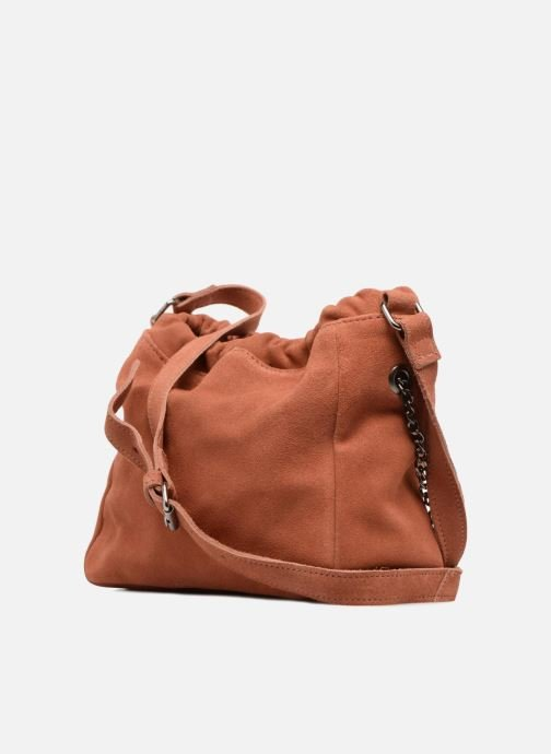 Handbags Pepe jeans Blondie bag Orange view from the right