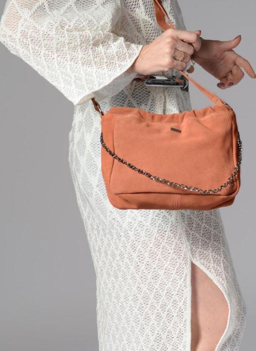 Sacs à main Pepe jeans Blondie bag Orange vue bas / vue portée sac