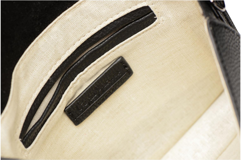 Kleine lederwaren Pepe jeans Ecora bag Zwart achterkant
