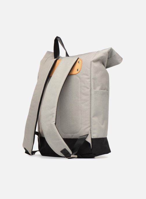 Rucksäcke Pepe jeans Aldgate backpack grau ansicht von rechts