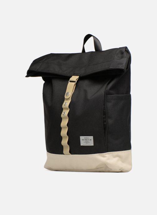 Sacs à dos Pepe jeans Aldgate backpack Noir vue portées chaussures