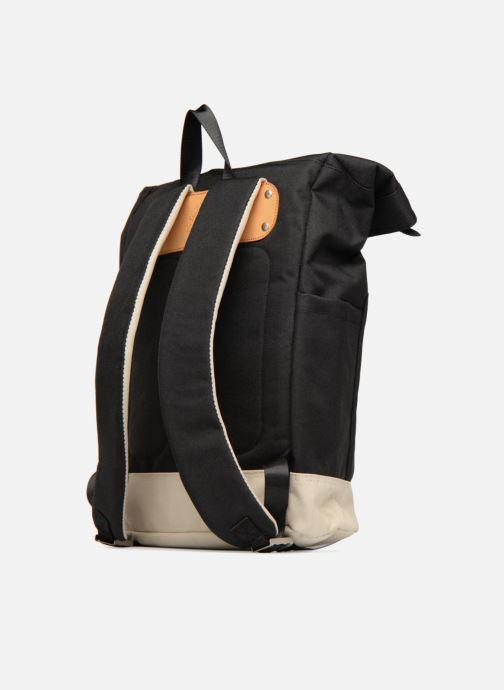 Rucksäcke Pepe jeans Aldgate backpack schwarz ansicht von rechts