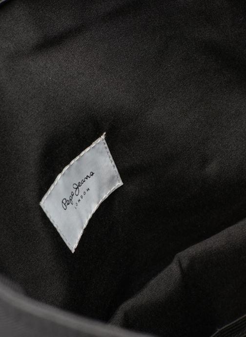 Mochilas Pepe jeans Aldgate backpack Negro vistra trasera