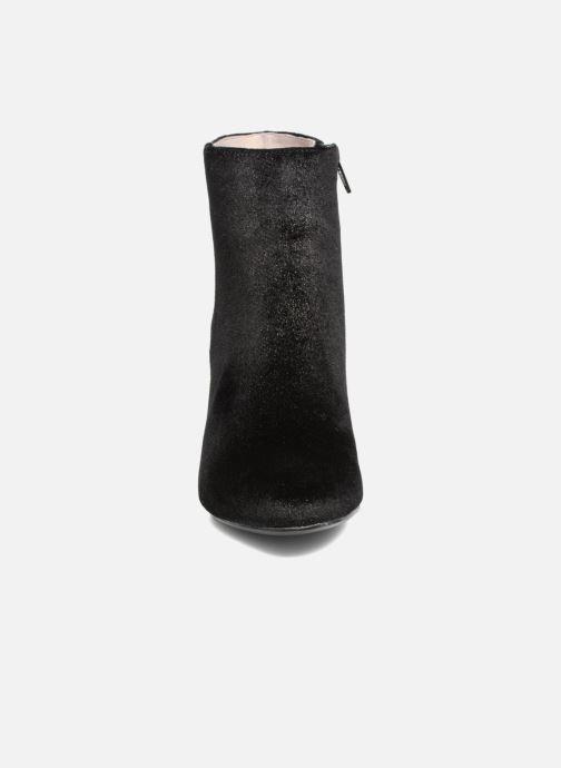 Yellow Boots Alanel Bottines Mellow Et Noir 08nkwPO