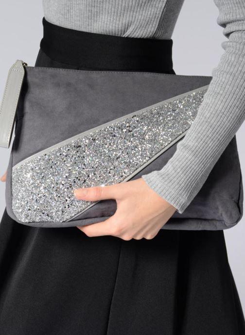 Portemonnaies & Clutches Mellow Yellow Amourette grau ansicht von unten / tasche getragen